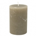 Bougie gris taupe 10cm