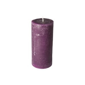 Bougie Violet 15cm