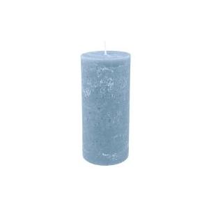 Bougie Bleu clair 15cm cylindrique