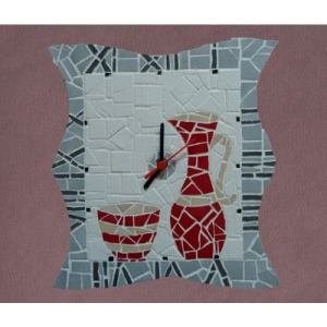 Kit mosaique horloge CL