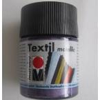 Peinture textile Marabu Métallic Violet 50 ml