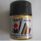 Peinture textile Marabu Métallic Or 50 ml
