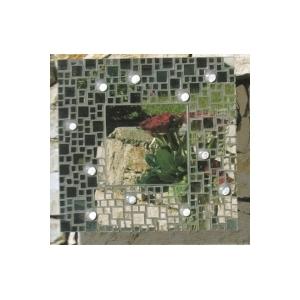 Kit mosaico artistico speccio e vetro fai da te maison for Mosaico fai da te