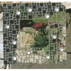 Kit mosaique miroir et perle de verre