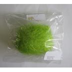 Decoration de Pâques sachet paille herbe vert mai
