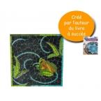 Kit Mosaïque murale grenouille MOSAIKTOONE
