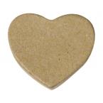 Mini coeur déco en carton