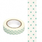 Masking Washi Tape point vert