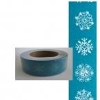 Masking Washi Tape neige bleu