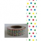 Masking Washi Tape points multicolores