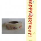 Masking Washi Tape happy birthday