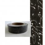 Masking Washi Tape noir et argent
