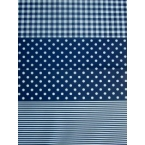 Decopatch Paper 599 dark and light blue