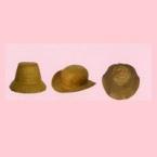 Chapeau decopatch set de 3 mini chapeau