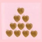 10 coeurs Decopatch