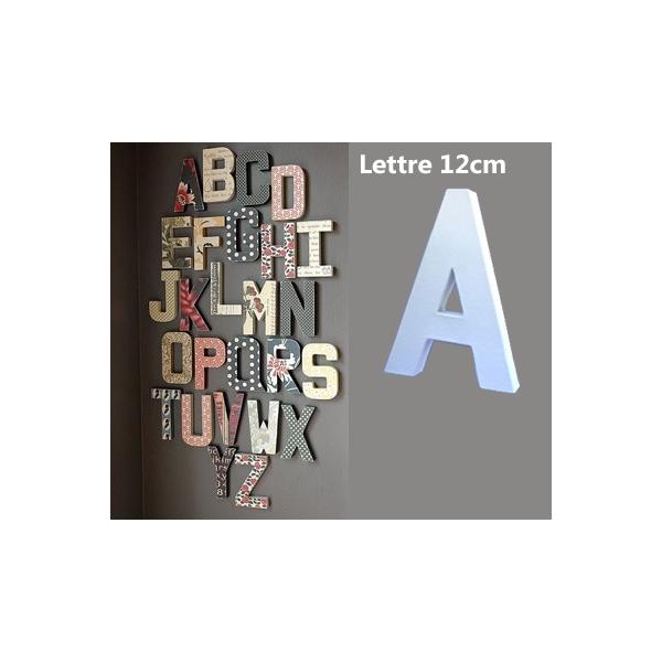 Lettre 3d en carton a 20cm maison pratic boutique pour vos loisirs creati - Lettre en carton geante ...