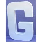 Lettre 3D-G 12cm