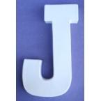 Lettre 3D-J 12cm