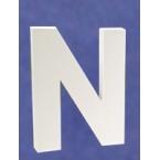 Lettre 3D-N 12cm