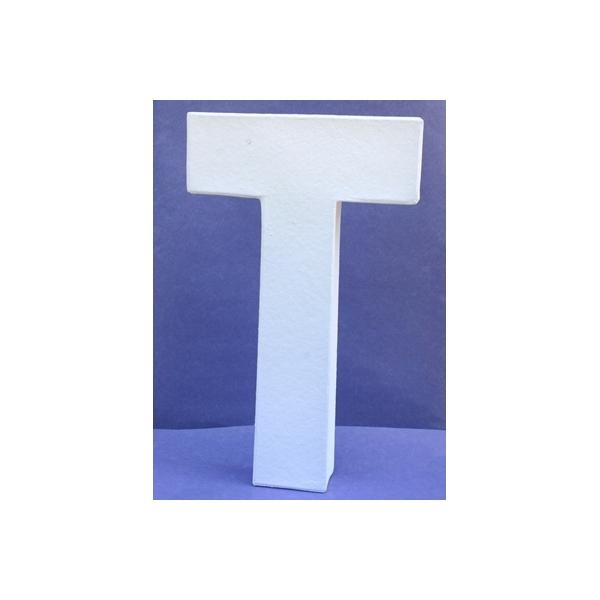Lettre 3d t 12cm maison pratic boutique pour vos - Chiffre en carton 3d ...