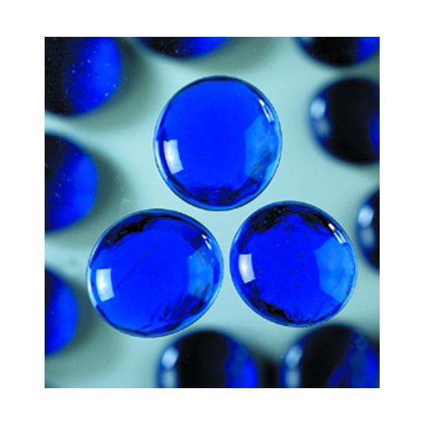 Grandes perles de verre bleu fonc maison pratic for Bleu turquoise fonce
