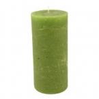 Bougie Vert Pomme 15cm