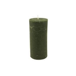 Bougie Vert foncé 15cm