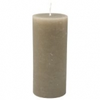 Bougie Gris taupe 15cm
