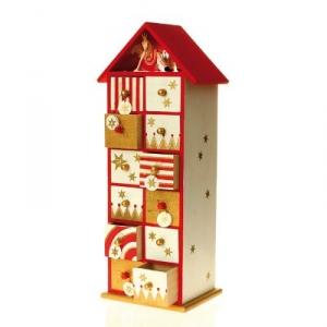 calendrier avent bois maison pratic boutique pour vos. Black Bedroom Furniture Sets. Home Design Ideas
