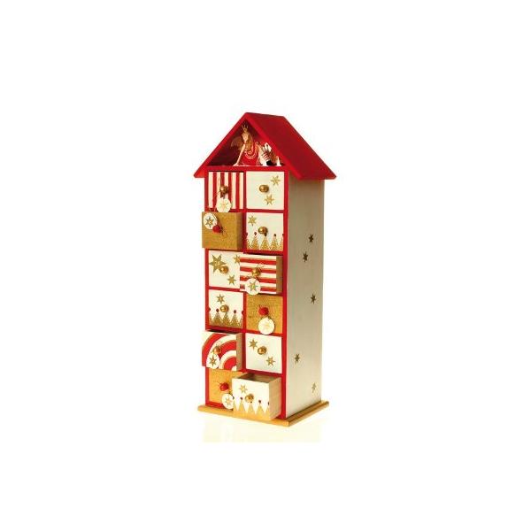 calendrier avent bois maison pratic boutique pour vos loisirs creatifs et votre deco. Black Bedroom Furniture Sets. Home Design Ideas