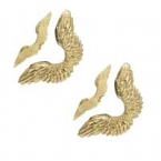 Grandes ailes d'ange or