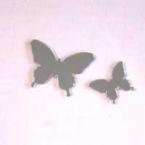 Miroir mosaïque papillons