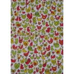 Decopatch Papers 609 green red gold
