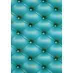 Decopatch carta 625 blu turchese cuoio