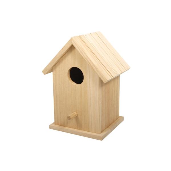 Boite bois en forme cabane de plage maison pratic - Decoration boite en bois ...