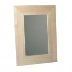 Boite bois Miroir et cadre photo