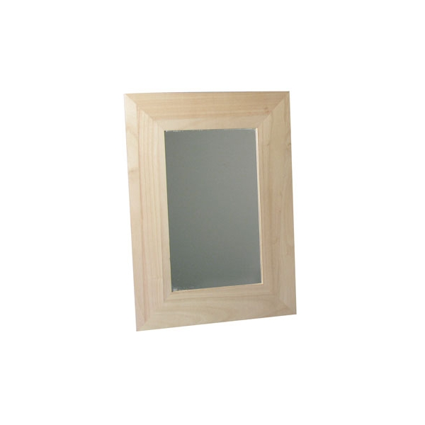 Boite bois miroir et cadre photo maison pratic for Miroir cadre bois