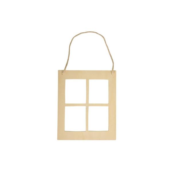 cadre photo fen tre maison pratic boutique pour vos loisirs creatifs et votre deco. Black Bedroom Furniture Sets. Home Design Ideas