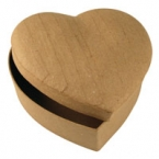 Craft Box Heart Rounded