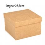 Grande Boîte carrée en carton XL