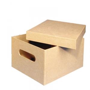 Pappmach sammelbox maison pratic boutique pour vos loisirs creatifs et v - Boite en carton a decorer ...