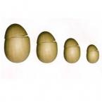 Décoration de Pâques 4 oeufs géants