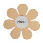 Support cadre photo fleur
