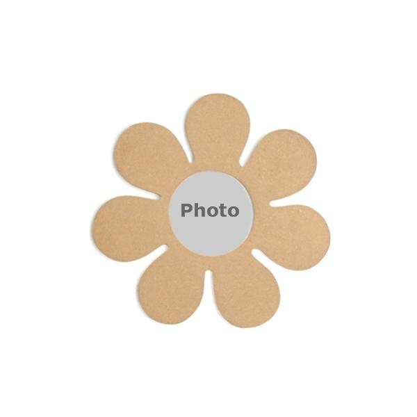 support cadre photo fleur maison pratic boutique pour vos loisirs creatifs et votre deco. Black Bedroom Furniture Sets. Home Design Ideas