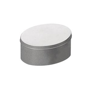 Boite metal ovale zinc
