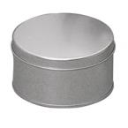 Boite metal ronde zinc taille 16cm