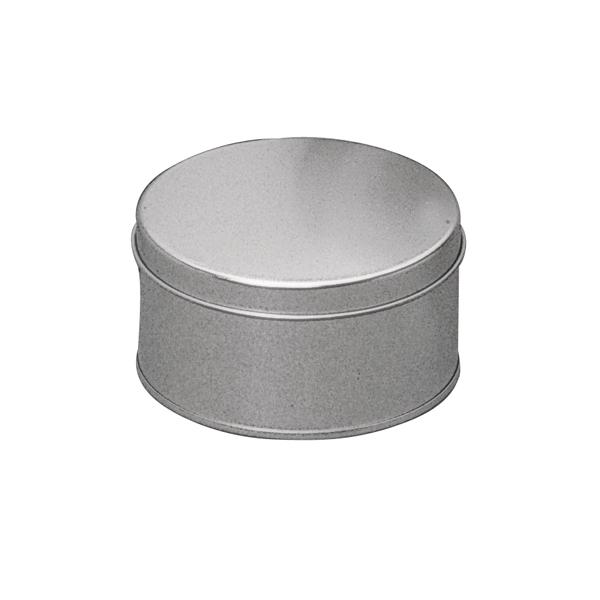 Boite metal ronde zinc taille 16cm maison pratic for Boite ronde a decorer