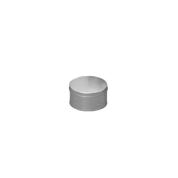 boite metal ronde zinc taille 11cm maison pratic boutique pour vos loisirs creatifs et votre. Black Bedroom Furniture Sets. Home Design Ideas