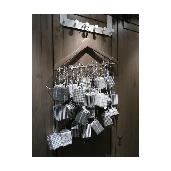 calendrier avent bo tes gris maison pratic boutique pour vos loisirs creatifs et votre deco. Black Bedroom Furniture Sets. Home Design Ideas