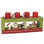 Photophore 4 bougies